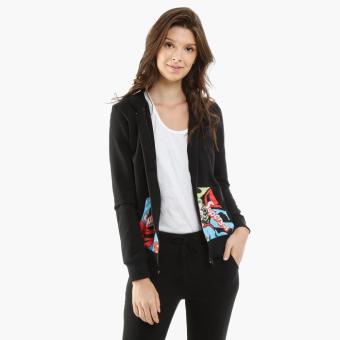 DC Super-Girl Girls Teens Jacket (Black)