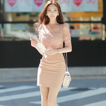 Debutante Korean-style New style Slim fit slimming sexy sheath dress skirt
