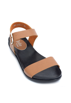 Derle Buckled-Strap Flip Flops by Floppies by Ohrelle (Camel). Price Philippines