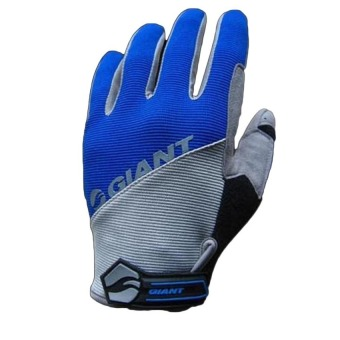 DHS GIANT Long Finger Cycling Glove Blue (Intl)