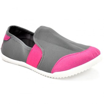 Diane Sneakers Slip-On Women's Fashion Shoes (Pink/Black)
