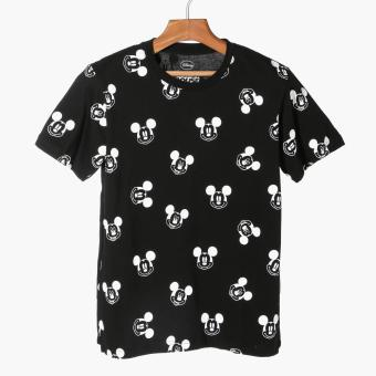 Disney Mickey Mouse Boys Teens Graphic Tee (Black)