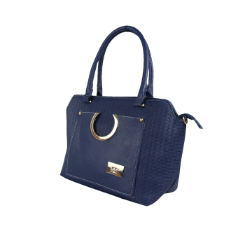DNJ C-01229 Tote Bag with Sling Bag (Navy Blue) - picture 2