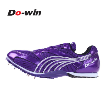 Do-win Track and Field tournament training nail shoes spikes (2609B purple)