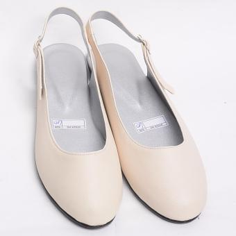 Doll me up Shoes Kelly's Flats Sling Back (Beige)
