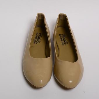Doll Me Up Shoes Lakshmi 's Flats (Beige) - 2