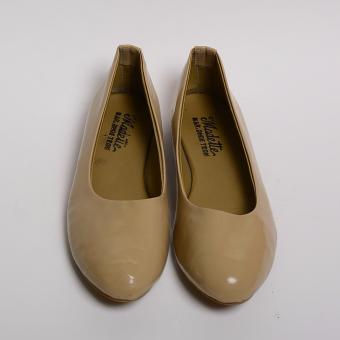 Doll Me Up Shoes Lakshmi 's Flats (Beige) - 5