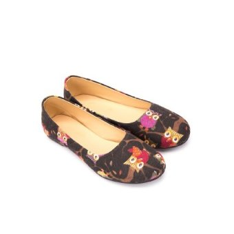 Doll Me Up Shoes Owl Flats Shoes