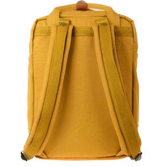 Doughnut Waterproof Students Backpack Nylon Backpack Computer BagYellow - 3