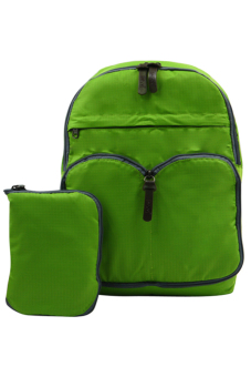 Durable Foldable Casual Backpack (Green)