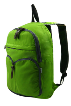 Durable Foldable Casual Backpack (Green) - picture 2