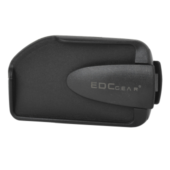 EDCGEAR Double Sides ABS Money Card Holder w/ Clip forMountaineering / Traveling - Black - intl Price Philippines