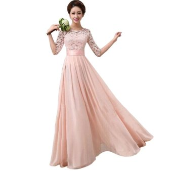 Elegant Long Sleeve Ball Gown Evening Party Long Dress Price Philippines