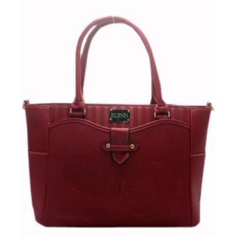 Elena 12102 Premium Bag Set (Red) - 2