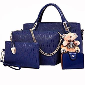 Elena 3203 Premium Bag Set (Blue)