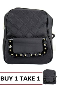Elena 5058 Backpack (Black) BUY 1 TAKE 1