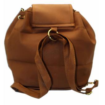 Elena 6128 Convertible Shoulder Bag/Backpack (Dark Grey) - 3