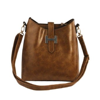 Elena 903 Crossbody Bag (Brown)