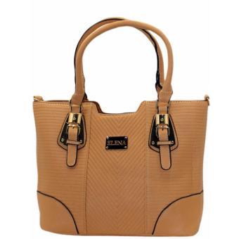 Elena X-11031 Premium Bag Set (Apricot) - 2