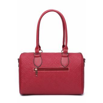 Elena X-522 5 in 1 Premium Bag Set (Red)With Mini Teddy - 3