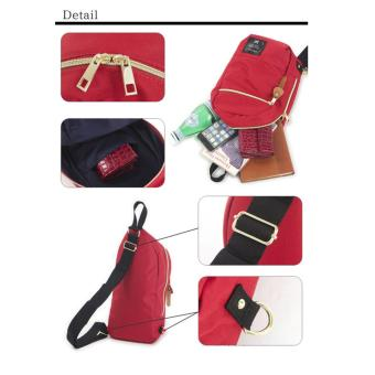 ( Elite ) Anello Sling Bag / Backpack / Unisex Sling Bag - Black - 3