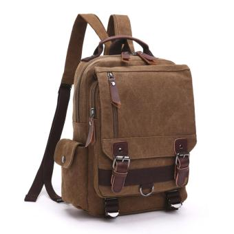 Elite Canvas Men Sling Bag / Laptop Backpack / Casual Backpack -Brown Sling Backpack