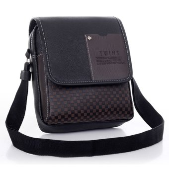 ETOP Men's Synthetic Leather Bag Handbag Shoulder Bag Messenger Briefcase - INTL