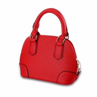 Europe Fashion Women Pu Leather Top-handbag Shoulder Bag BBQF001(Red)