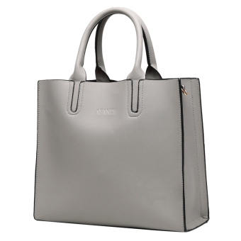 European and American female New style winter casual women's bag (Gray)
