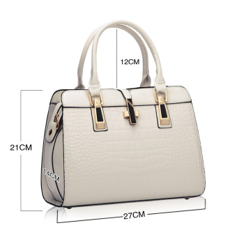 European and American female New style winter mommy bag (White small)