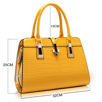 European and American female New style winter mommy bag (Yellow)