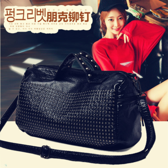 European and American portable shoulder women's bag pillow bag