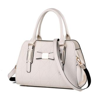 European Style Handbag Shoulder Bag(white) Price Philippines