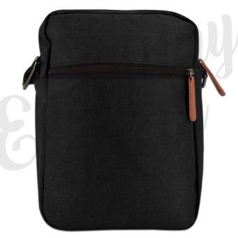 Everyday Deal 802 Mens Sling Messenger Crossbody Bag (Black) - 3
