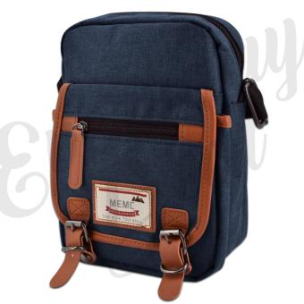 Everyday Deal 802 Mens Sling Messenger Crossbody Bag (Navy Blue)