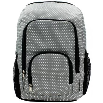 Everyday Deal Jeffrey Unisex Fashion Outdoor Backpack CasualDaypack Bag (Light Grey)