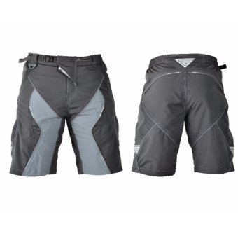 Extreme Assault Accelerate 3 Multi Purpose Biking Short (Black/Gray)