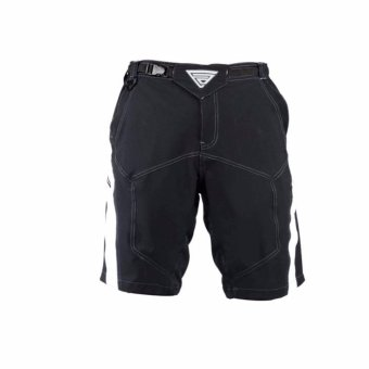 Extreme Assault Blaster 4 Multi Purpose Biking Short (Black/ White)