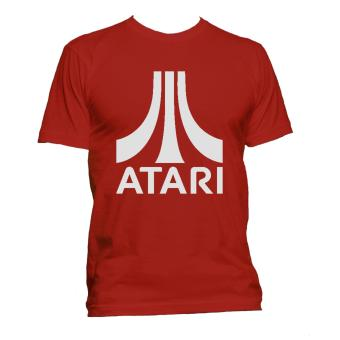 Fan Arena Atari Inspired Silver T-shirt (Red) Price Philippines