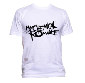 Fan Arena Band Series My Chemical Romance Inspired T-shirt (White) Price Philippines