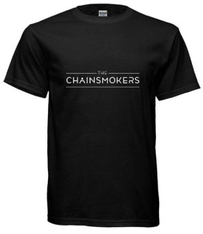 Fan Arena EDM Chainsmokers T-shirt (Black) Price Philippines