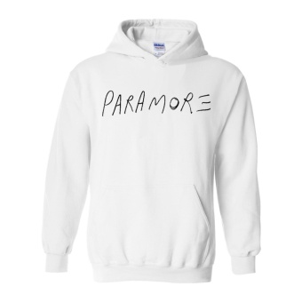Fan Arena Paramore Inspired Hoodie (White) Price Philippines