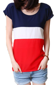 Fancyqube Chiffon T-shirt Red Price Philippines