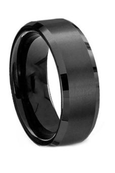 Fancyqube Stainless Steel Titanium Wedding Men Ring Black Price Philippines