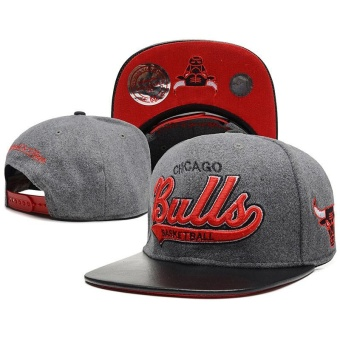 Fashion 2017 New Style NBA Chicago Bulls Snapback Cap Adjustable Sport Hat - intl