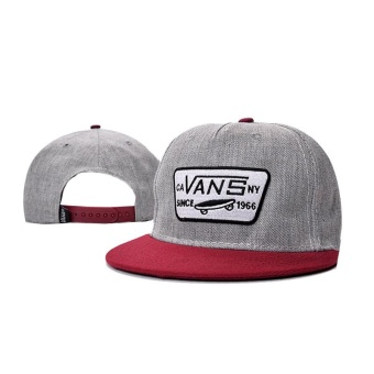 Fashion 2017 New Style VANS Snapback Cap Adjustable Sport Hat - intl