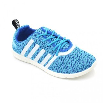 Fashion 803 Low Cut High Quality Sneakers Women's Running Rubber Shoes (light blue)