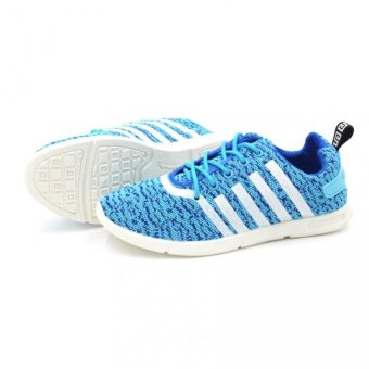 Fashion 803 Low Cut High Quality Sneakers Women's Running Rubber Shoes (light blue) - picture 2
