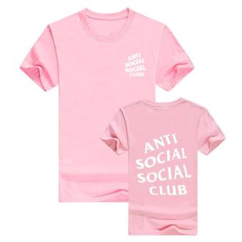 Fashion Anti Social Social Club Hip Hop Couple T-shirts Men Women Youth Tops Tees -intl