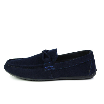 Fashion Autumn New Simple Loafers - Blue - picture 2